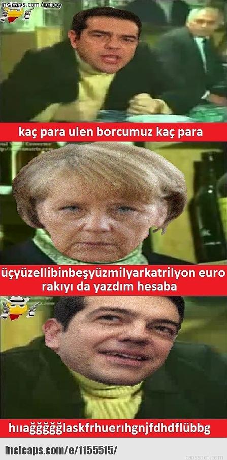 Borç Batağındaki Yunanistan İle İlgili Yapılmış 28 Caps 26