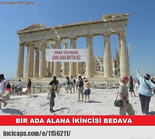 Borç Batağındaki Yunanistan İle İlgili Yapılmış 28 Caps 6