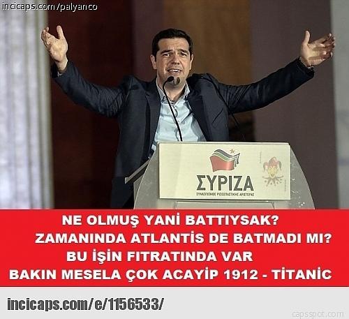 Borç Batağındaki Yunanistan İle İlgili Yapılmış 28 Caps 7