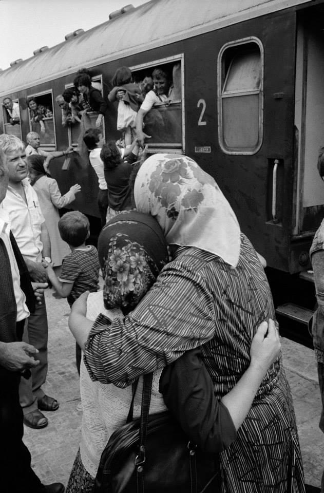 BULGARİSTAN - TÜRKİYE ZORUNLU GÖÇ FOTOĞRAFLARI 1