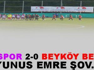 GEBZESPOR 2-0 BEYKÖY BELEDİYESPOR