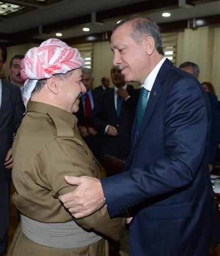 Barzani, Tatlıses, Perver ve Erdoğan 18