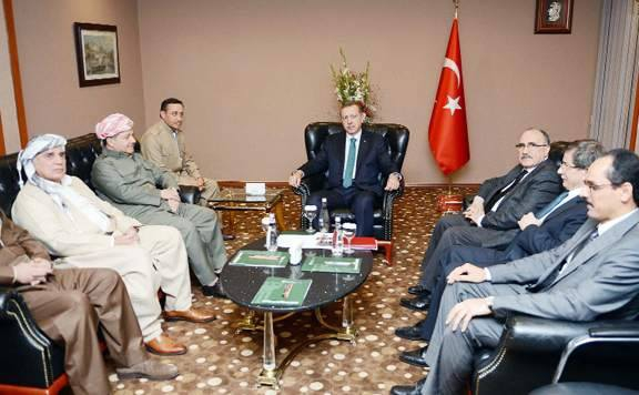 Barzani, Tatlıses, Perver ve Erdoğan 2