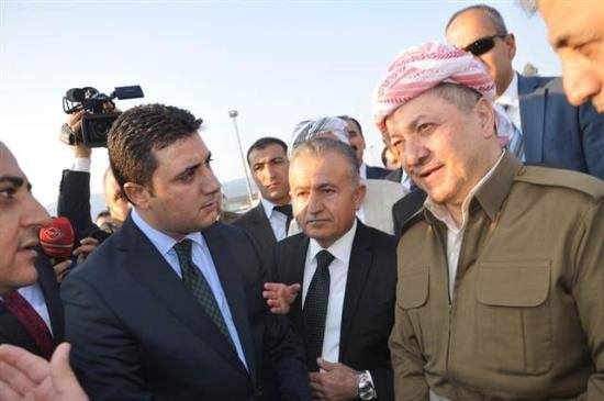 Barzani, Tatlıses, Perver ve Erdoğan 8