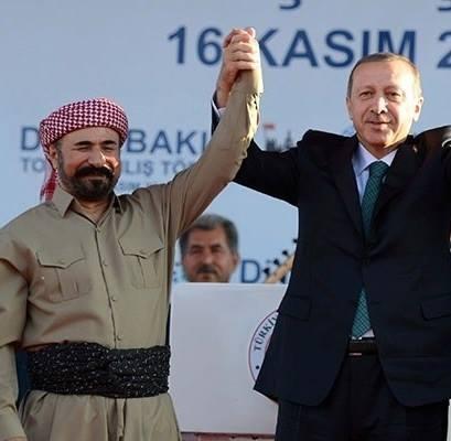 Barzani, Tatlıses, Perver ve Erdoğan 9