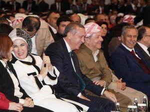 Barzani, Tatlıses, Perver ve Erdoğan