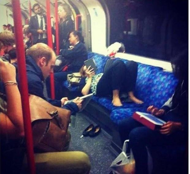 Metronun En Garip İnsanları 13