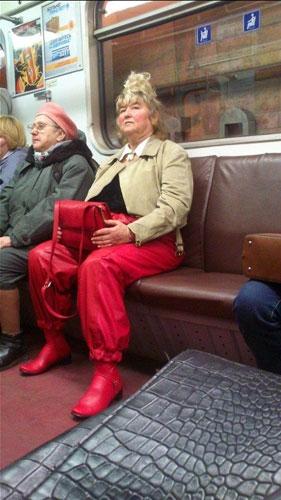 Metronun En Garip İnsanları 15