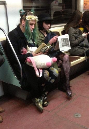 Metronun En Garip İnsanları 16