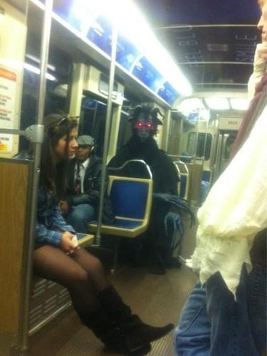 Metronun En Garip İnsanları 9