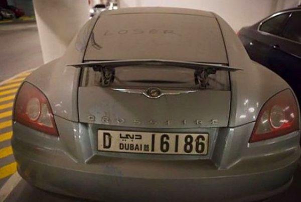 Dubai Sokaklarında İnanılmaz Manzara! 3