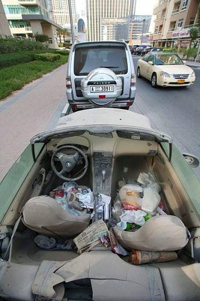 Dubai Sokaklarında İnanılmaz Manzara! galerisi resim 4