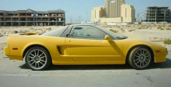 Dubai Sokaklarında İnanılmaz Manzara! 7