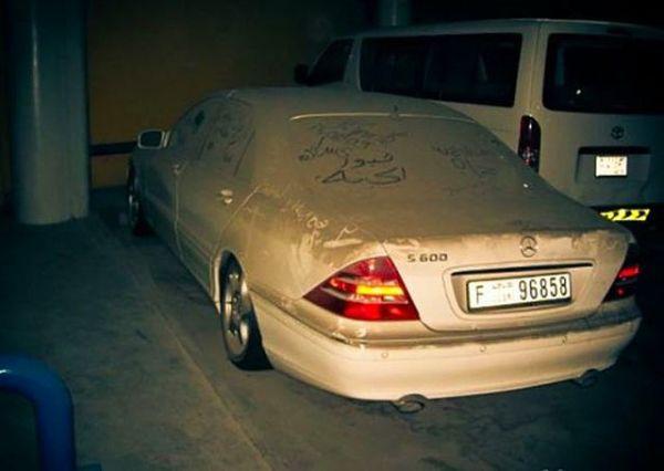 Dubai Sokaklarında İnanılmaz Manzara! 8