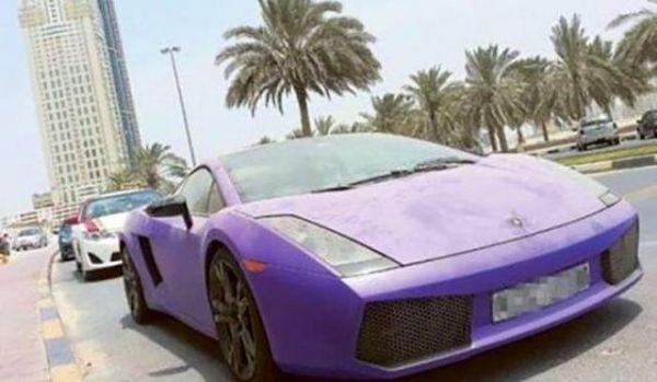 Dubai Sokaklarında İnanılmaz Manzara! 9