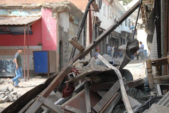 Terör Saldırılarının Sur'da Yarattığı Tahribat 1