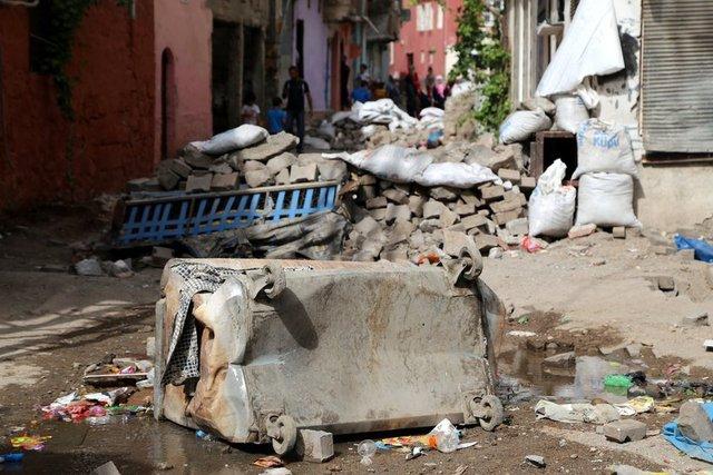 Terör Saldırılarının Sur'da Yarattığı Tahribat 10