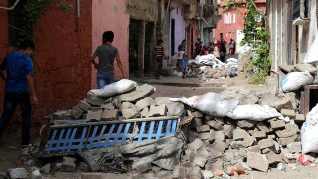 Terör Saldırılarının Sur'da Yarattığı Tahribat galerisi resim 12