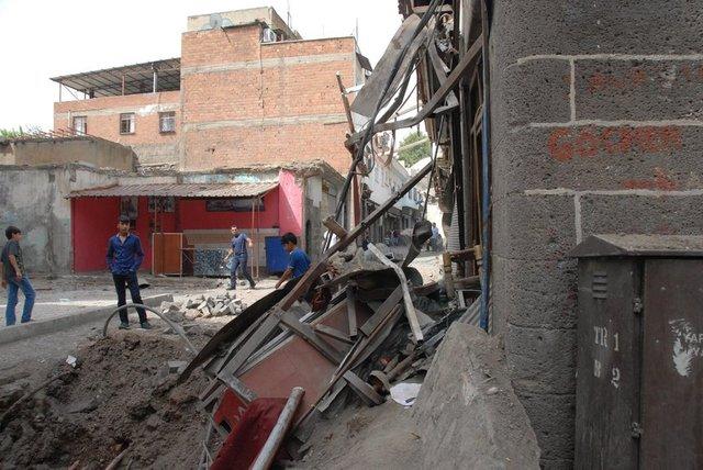 Terör Saldırılarının Sur'da Yarattığı Tahribat galerisi resim 4