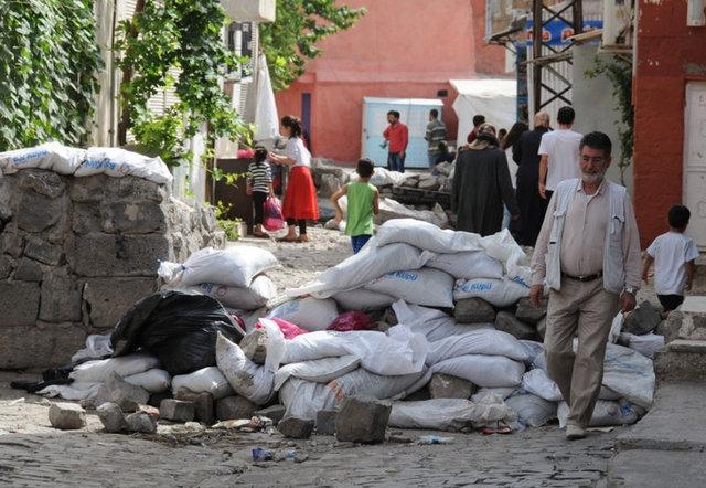 Terör Saldırılarının Sur'da Yarattığı Tahribat 9