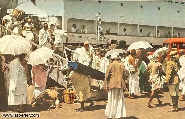 1953 YILINDA GERÇEKLEŞTİRİLEN HAC FOTOĞRAFLARI 5
