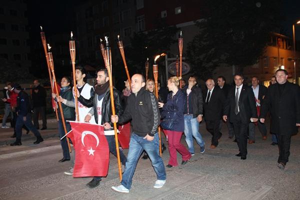 CHP Gebze Cumhuriyet Bayramı Fener Alayı 1