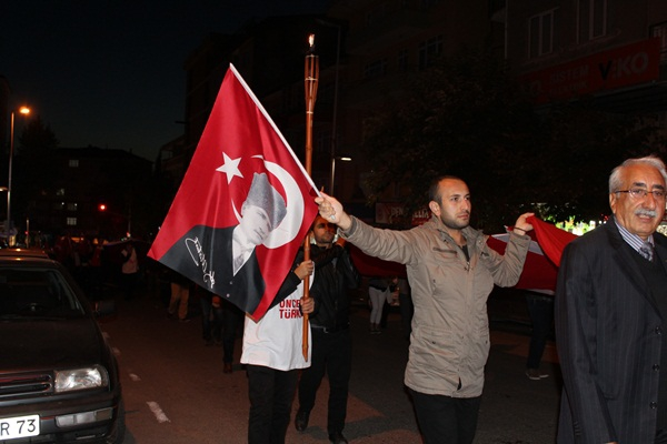 CHP Gebze Cumhuriyet Bayramı Fener Alayı 3