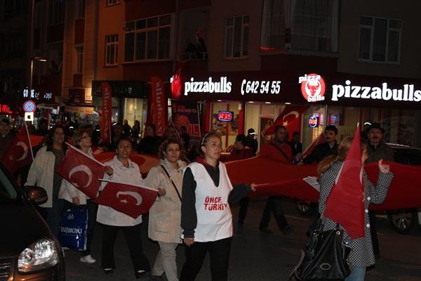 CHP Gebze Cumhuriyet Bayramı Fener Alayı 4
