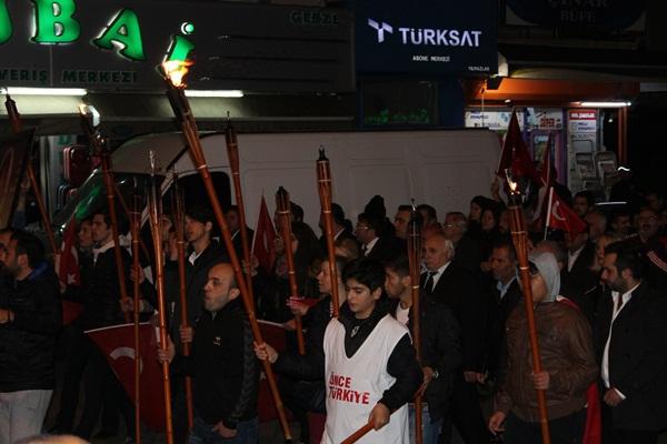 CHP Gebze Cumhuriyet Bayramı Fener Alayı 6