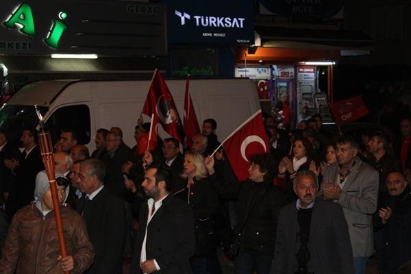 CHP Gebze Cumhuriyet Bayramı Fener Alayı 7