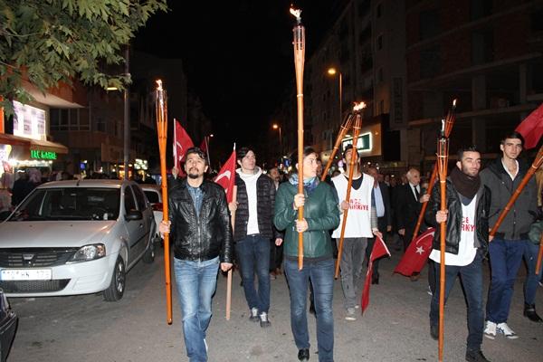 CHP Gebze Cumhuriyet Bayramı Fener Alayı 9