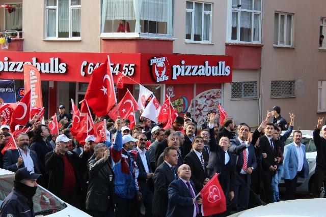 MHP Gebze'ye çıkarma yaptı 6