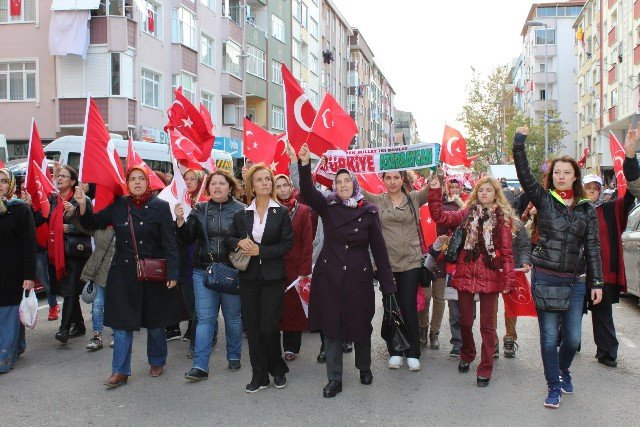 MHP Gebze'ye çıkarma yaptı 9