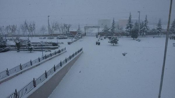 Gebze'den kar manzaraları galerisi resim 1
