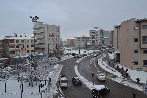 Gebze'den kar manzaraları 10