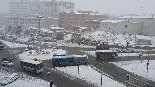 Gebze'den kar manzaraları 11
