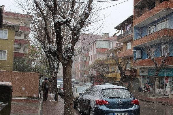 Gebze'den kar manzaraları 12