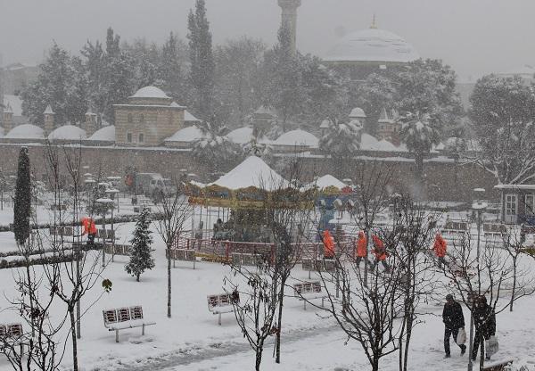 Gebze'den kar manzaraları 13