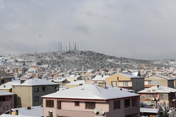 Gebze'den kar manzaraları 18