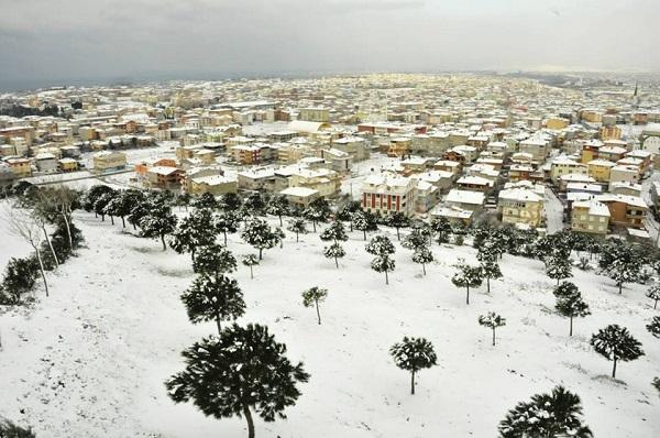 Gebze'den kar manzaraları 3
