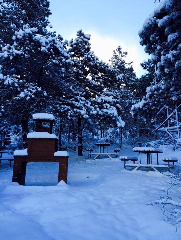 Gebze'den kar manzaraları 5