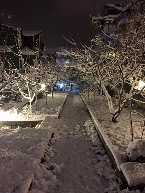 Gebze'den kar manzaraları 7