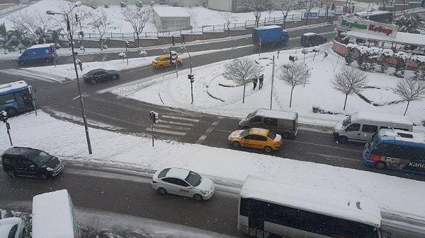 Gebze'den kar manzaraları 9