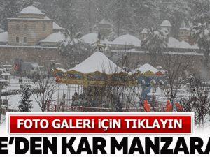 Gebze'den kar manzaraları