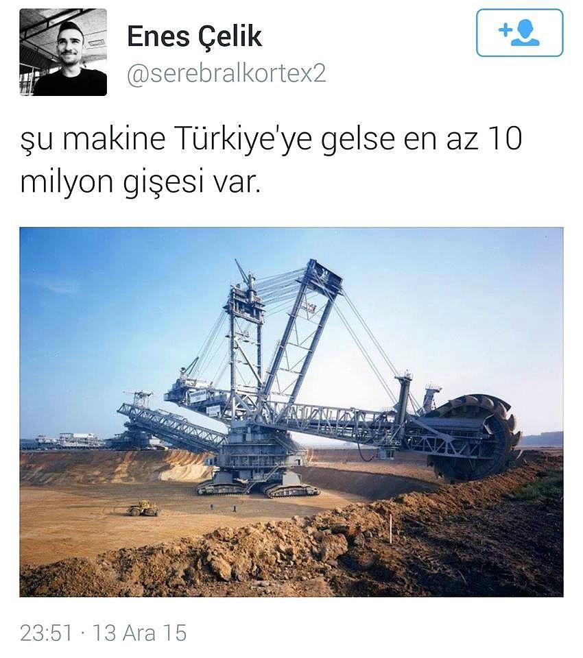 İş makinesi izlemek Türk insanı için ata sporu 15