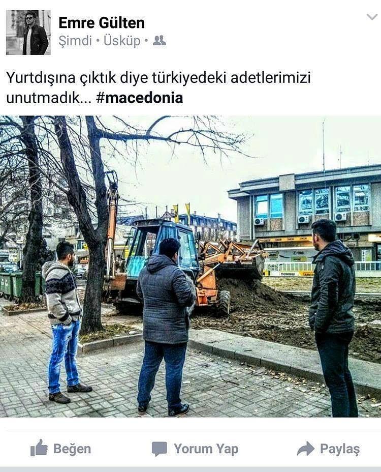 İş makinesi izlemek Türk insanı için ata sporu 9