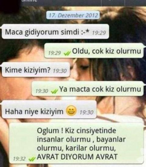 Komik WhatsApp mesajları 10