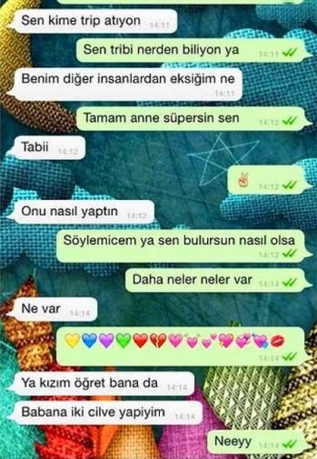Komik WhatsApp mesajları 12