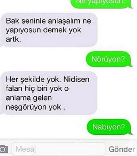 Komik WhatsApp mesajları 13