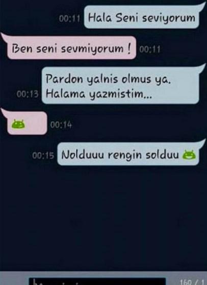 Komik WhatsApp mesajları 14